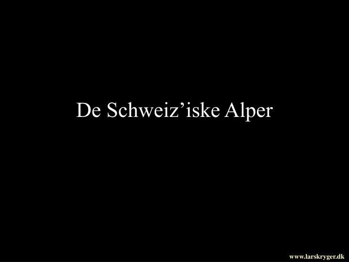 De Schweiz'iske Alper