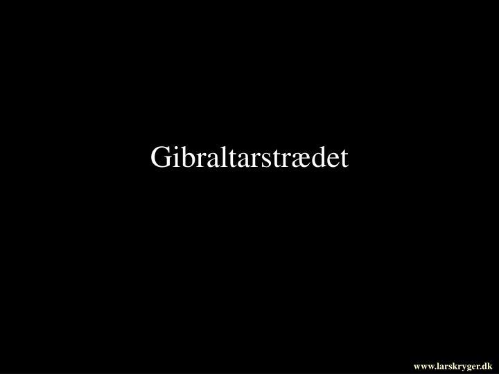 Gibraltarstrædet