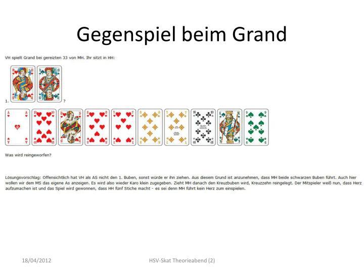 Gegenspiel beim Grand