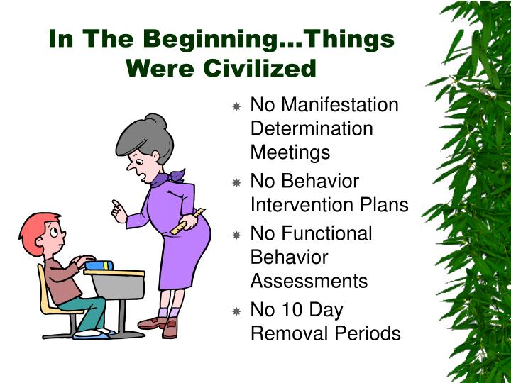 In The Beginning…Things Were Civilized