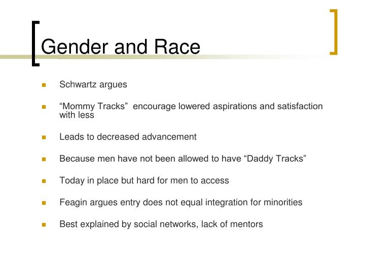 Gender and Race