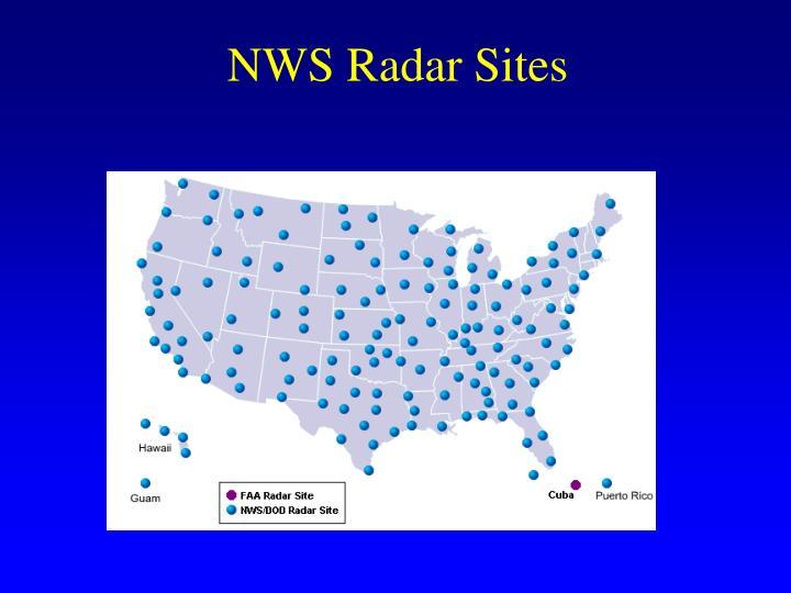 NWS Radar Sites