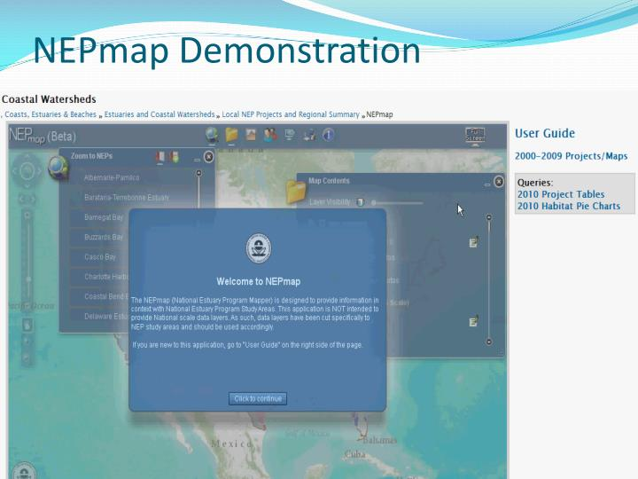 Nepmap demonstration