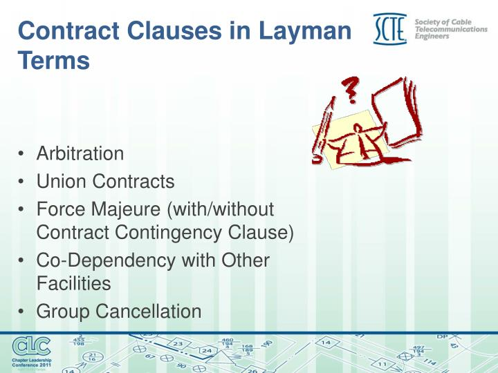 Contract Clauses in Layman Terms