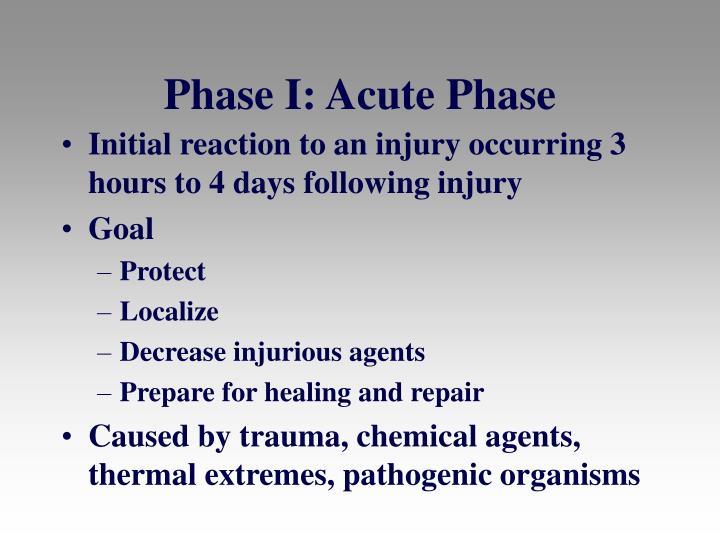 Phase I: Acute Phase