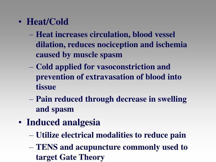 Heat/Cold