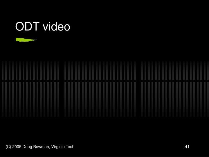 ODT video