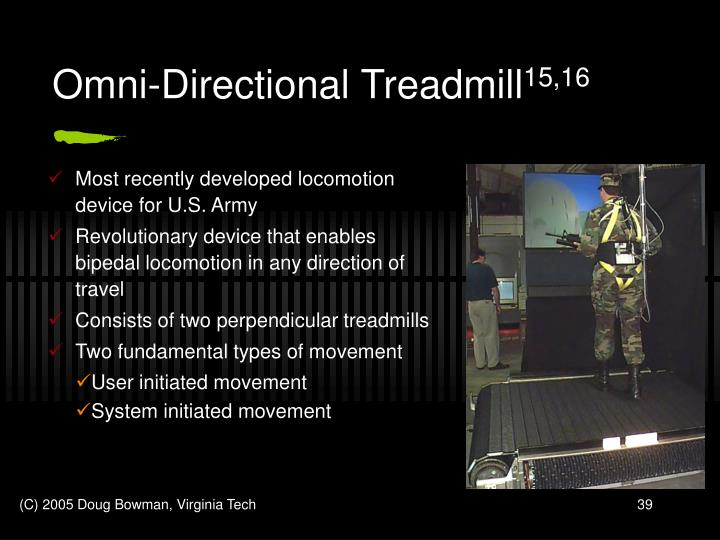 Omni-Directional Treadmill