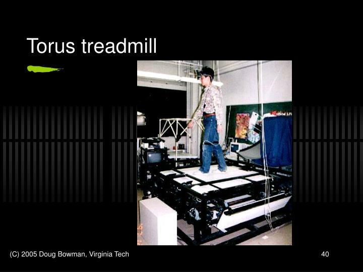 Torus treadmill