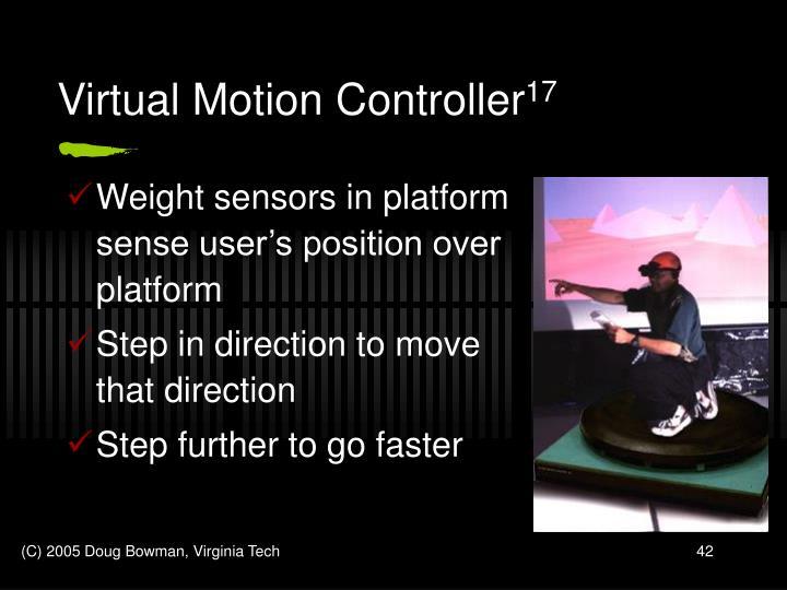 Virtual Motion Controller
