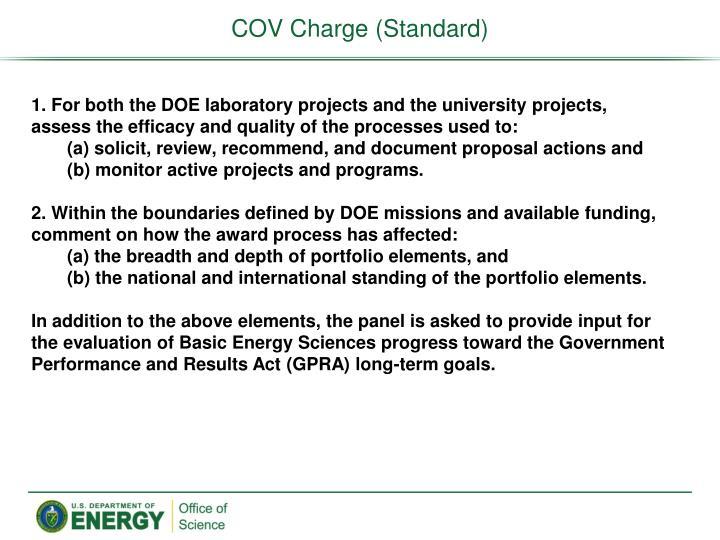 COV Charge (Standard)