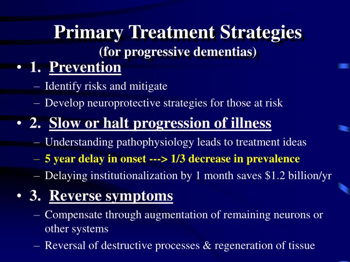 Primary Treatment Strategies