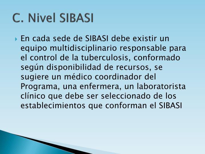 C. Nivel SIBASI