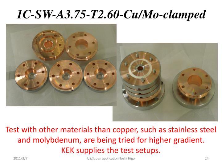 1C-SW-A3.75-T2.60-Cu/Mo-clamped