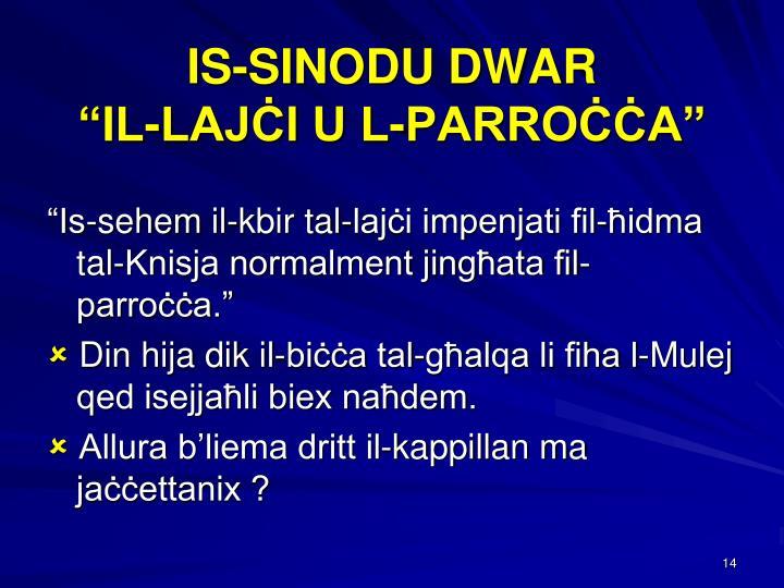 IS-SINODU DWAR