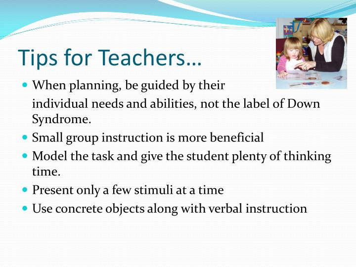 Tips for Teachers…