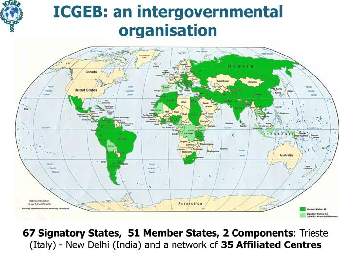 ICGEB: an intergovernmental
