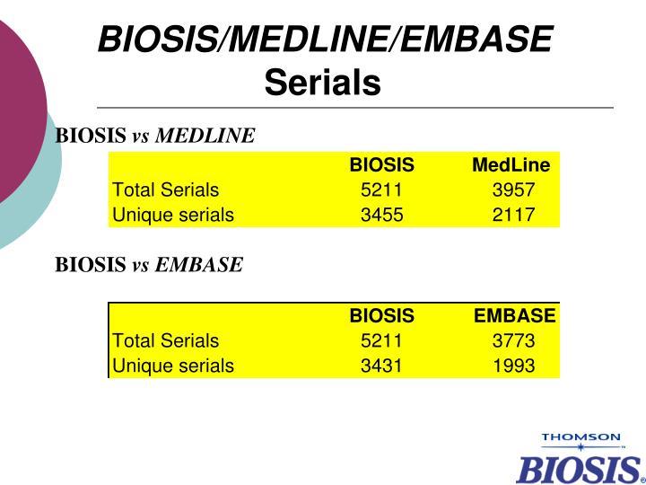 BIOSIS/M