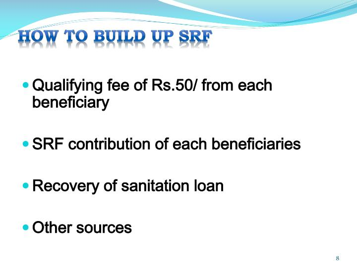 HOW TO BUILD UP SRF