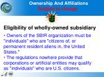 ownership and affiliations subject to change
