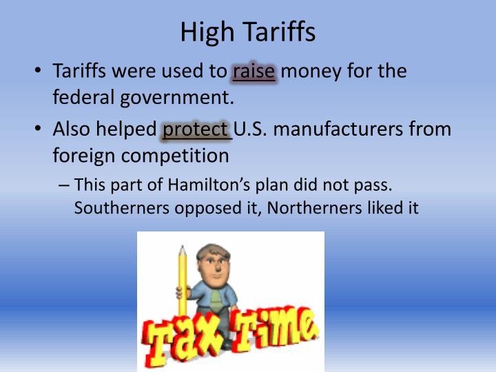 High Tariffs