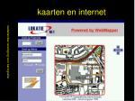 kaarten en internet