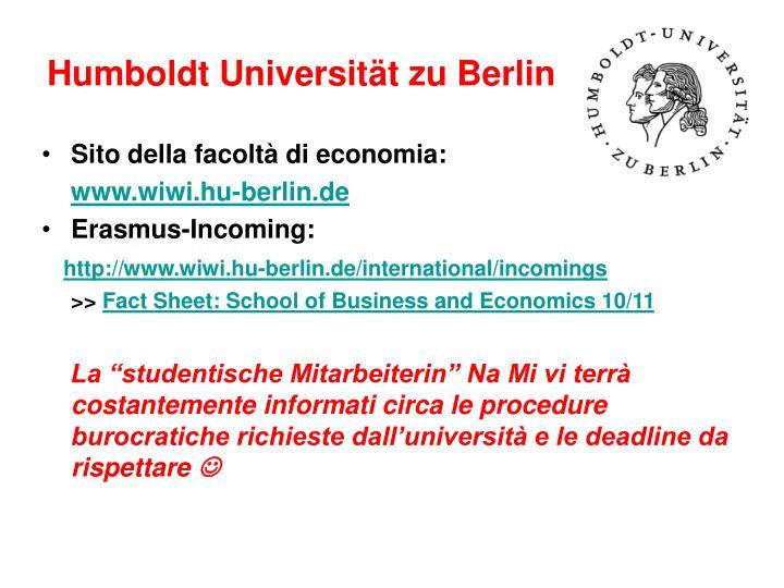 Humboldt Universit