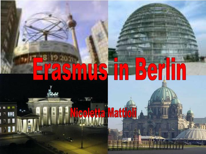 Erasmus in Berlin
