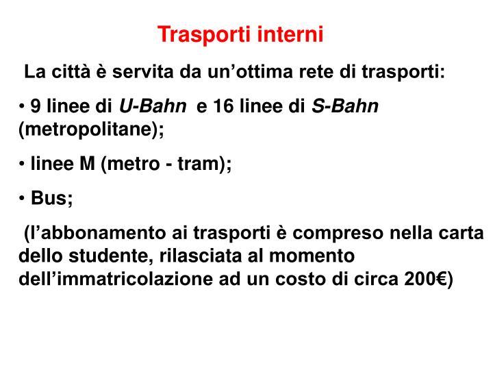 Trasporti interni