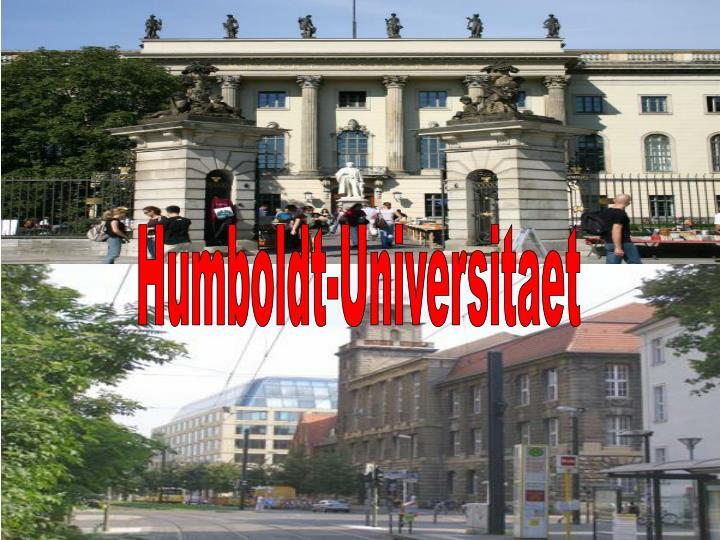 Humboldt-Universitaet