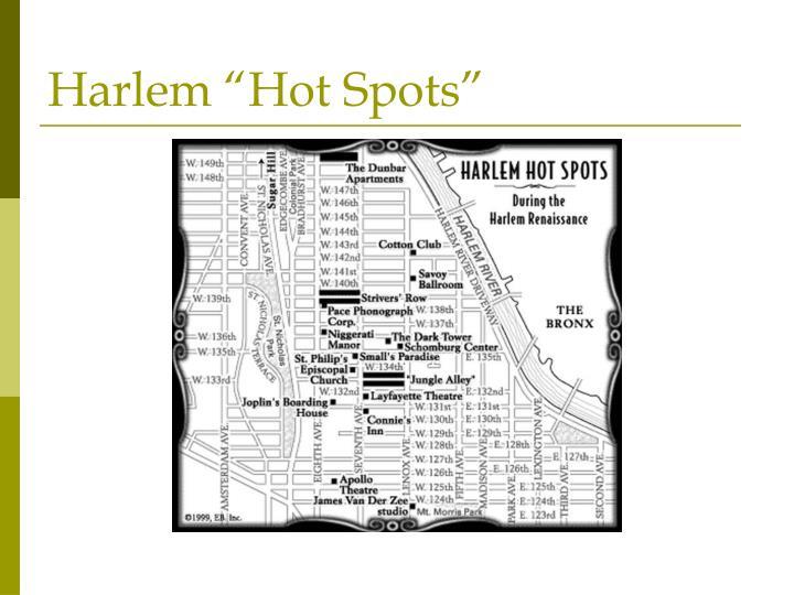 """Harlem """"Hot Spots"""""""