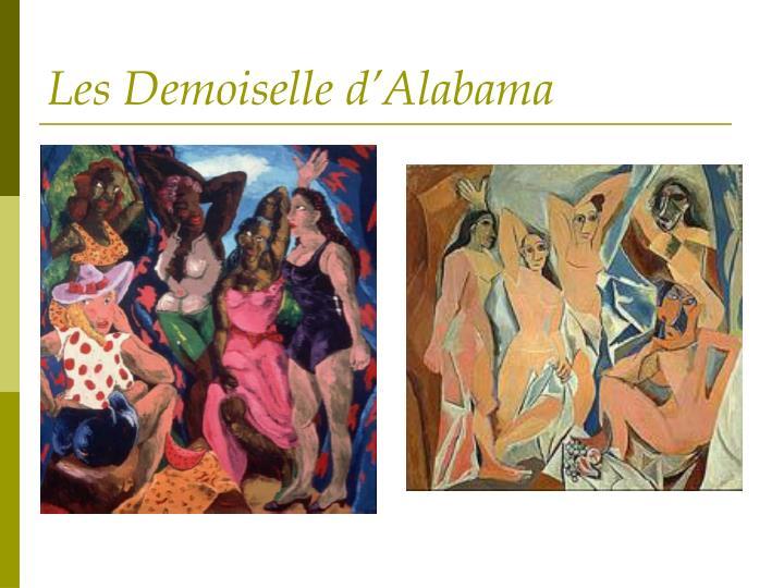 Les Demoiselle d'Alabama