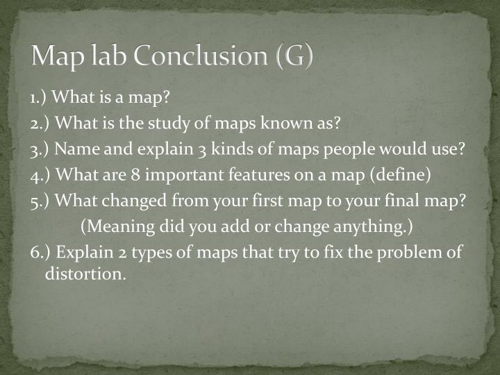 Map lab