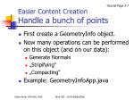 easier content creation handle a bunch of points