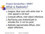project renderman bmrt what is radiosity