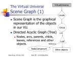 the virtual universe scene graph 1