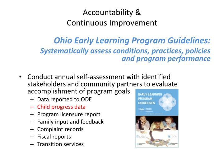 Accountability &