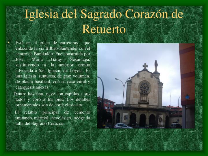 Iglesia del Sagrado Corazón de Retuerto