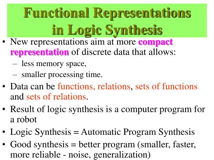 Functional Representations