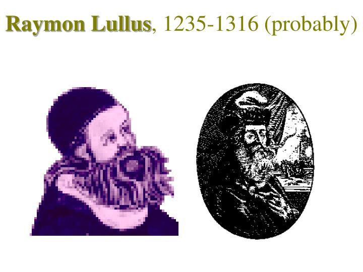 Raymon Lullus