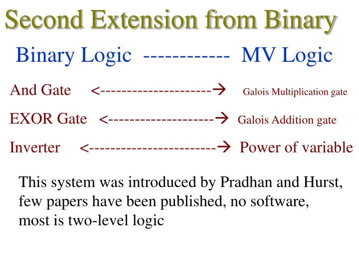 Second Extension from Binary