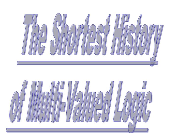 The Shortest History