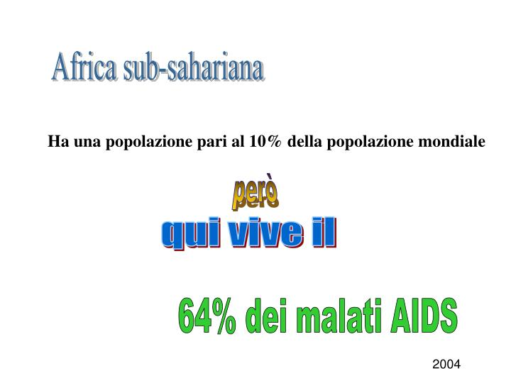 Africa sub-sahariana