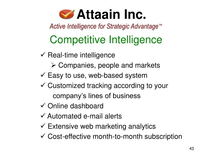 Attaain Inc.