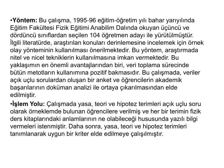 Yntem: