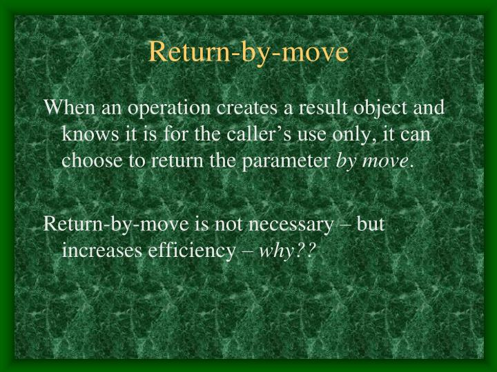 Return-by-move