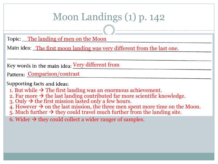 Moon Landings (1) p. 142