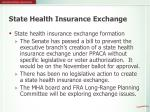 state health insurance exchange