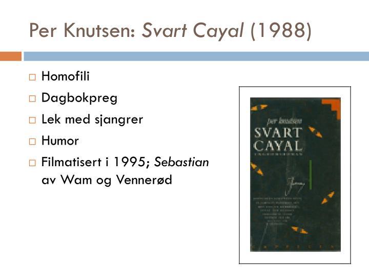 Per Knutsen: