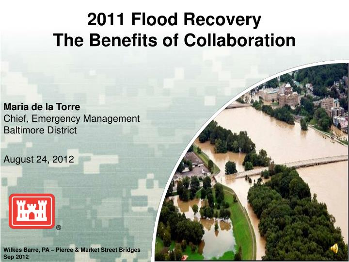 2011 Flood Recovery